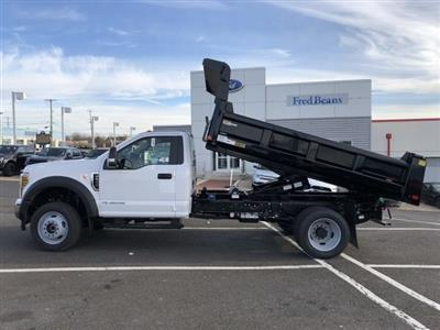 2019 F-550 Regular Cab DRW 4x4, Rugby Eliminator LP Steel Dump Body #FL34287 - photo 5