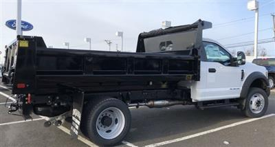 2019 F-550 Regular Cab DRW 4x4,  Rugby Eliminator LP Steel Dump Body #FL34287 - photo 6