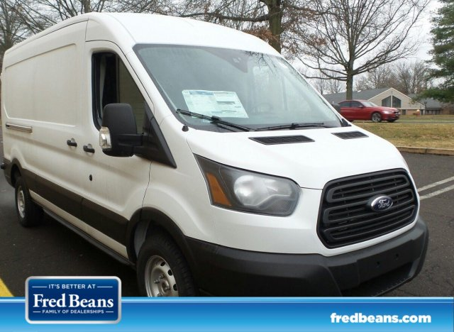 2019 Transit 250 Med Roof 4x2,  Weather Guard Upfitted Cargo Van #FL34299 - photo 1
