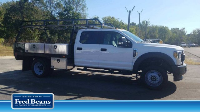 2019 F-450 Crew Cab DRW 4x4, SH Truck Bodies Contractor Body #FL34300 - photo 1