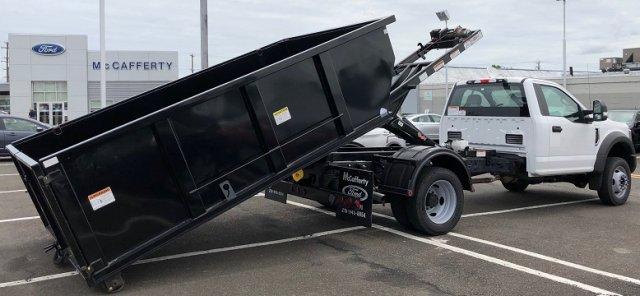 2019 F-550 Regular Cab DRW 4x4,  Switch N Go Drop Box Landscape Dump #FL34326 - photo 5