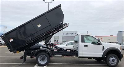 2019 F-550 Regular Cab DRW 4x4,  Switch N Go Drop Box Landscape Dump #FL34326 - photo 3