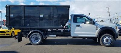 2019 F-550 Regular Cab DRW 4x4,  Switch N Go Drop Box Landscape Dump #FL34326 - photo 7