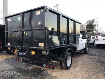 2019 F-550 Regular Cab DRW 4x4,  Switch N Go Drop Box Landscape Dump #FL34326 - photo 9