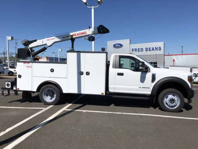 2019 F-550 Regular Cab DRW 4x4,  Palfinger PAL Pro 39 Mechanics Body #FL34327 - photo 11