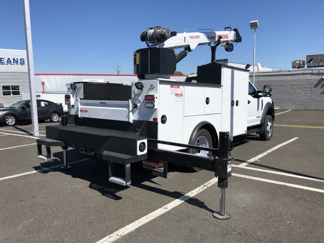 2019 F-550 Regular Cab DRW 4x4,  Palfinger PAL Pro 39 Mechanics Body #FL34327 - photo 2