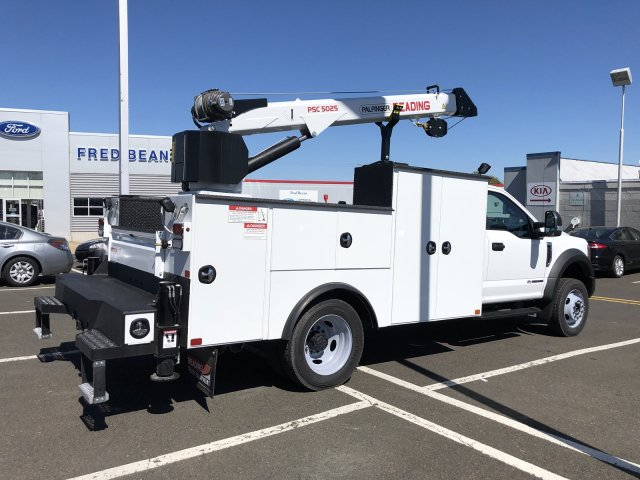 2019 F-550 Regular Cab DRW 4x4,  Palfinger PAL Pro 39 Mechanics Body #FL34327 - photo 13