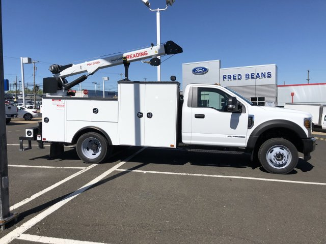 2019 F-550 Regular Cab DRW 4x4,  Palfinger PAL Pro 39 Mechanics Body #FL34327 - photo 17