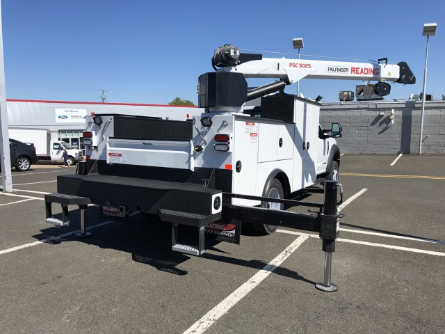 2019 F-550 Regular Cab DRW 4x4,  Palfinger PAL Pro 39 Mechanics Body #FL34327 - photo 19