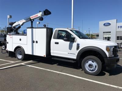 2019 F-550 Regular Cab DRW 4x4,  Palfinger PAL Pro 39 Mechanics Body #FL34327 - photo 12