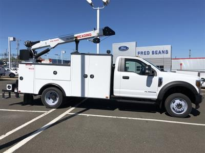 2019 F-550 Regular Cab DRW 4x4,  Palfinger PAL Pro 39 Mechanics Body #FL34327 - photo 14