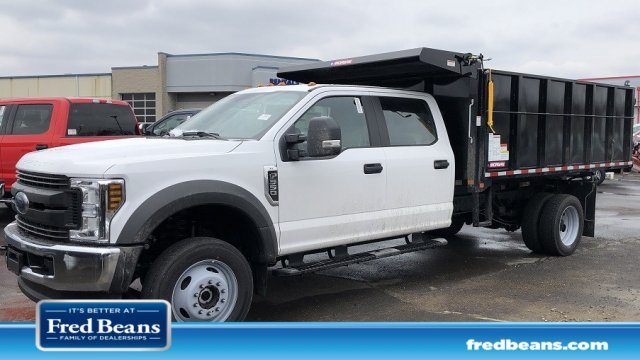 2019 F-550 Crew Cab DRW 4x4,  Morgan Landscape Dump #FL34416 - photo 1