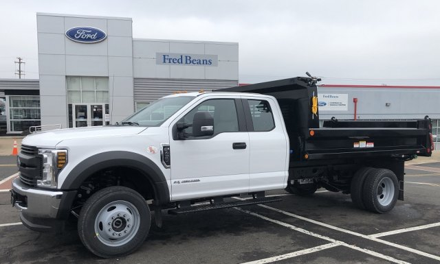 2019 F-450 Super Cab DRW 4x4, Reading Marauder SL Dump Body #FL34434 - photo 9