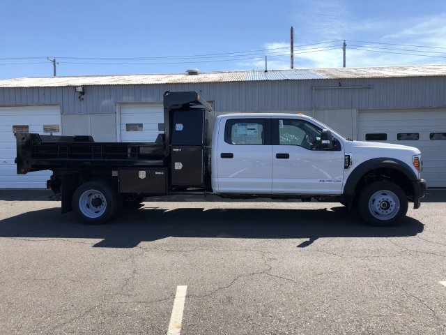 2019 F-450 Crew Cab DRW 4x4, South Jersey Truck Bodies Mason Dump Body #FL34445 - photo 3