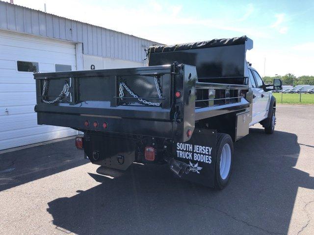 2019 F-450 Crew Cab DRW 4x4, South Jersey Truck Bodies Mason Dump Body #FL34445 - photo 2