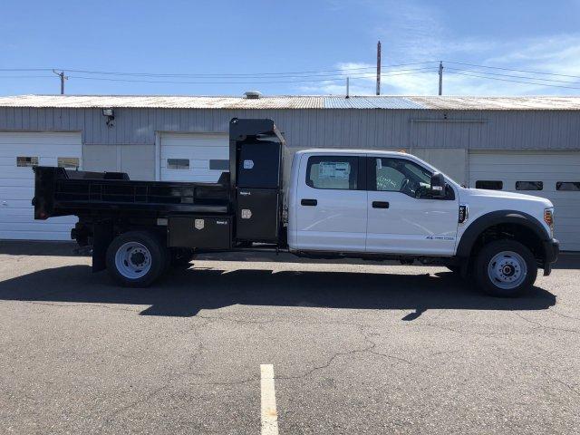 2019 F-450 Crew Cab DRW 4x4, South Jersey Truck Bodies Mason Dump Body #FL34445 - photo 6