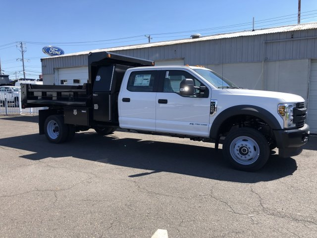 2019 F-450 Crew Cab DRW 4x4, South Jersey Truck Bodies Mason Dump Body #FL34445 - photo 7