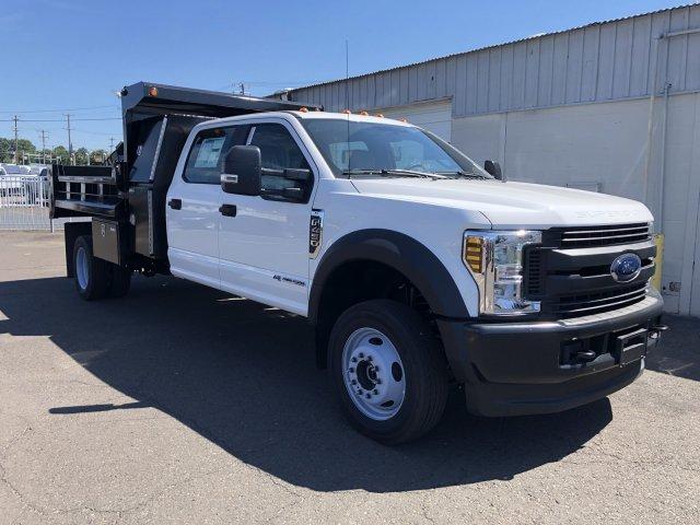 2019 F-450 Crew Cab DRW 4x4, South Jersey Truck Bodies Mason Dump Body #FL34445 - photo 8