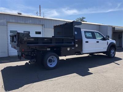 2019 F-450 Crew Cab DRW 4x4, South Jersey Truck Bodies Mason Dump Body #FL34445 - photo 4