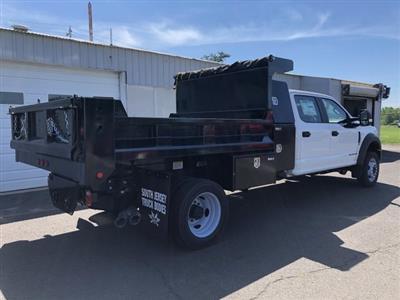 2019 F-450 Crew Cab DRW 4x4, South Jersey Truck Bodies Mason Dump Body #FL34445 - photo 5
