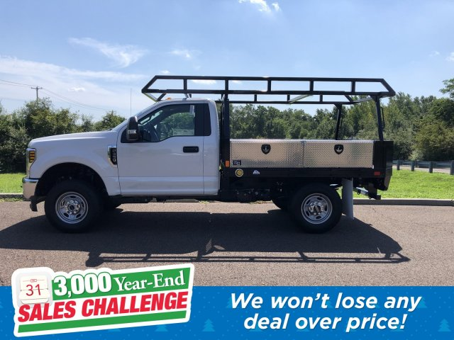 2019 F-350 Regular Cab 4x4,  TP Trailers Inc. Contractor Body #FL34583 - photo 1