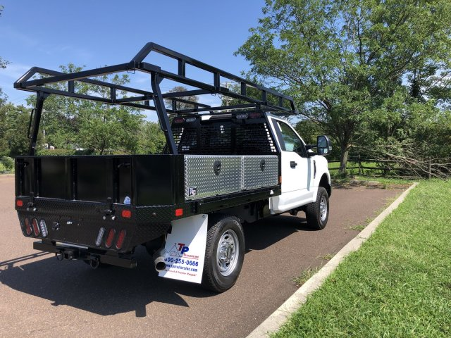 2019 F-350 Regular Cab 4x4,  TP Trailers Inc. Contractor Body #FL34583 - photo 3