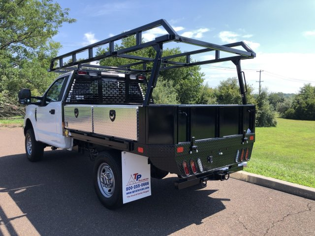 2019 F-350 Regular Cab 4x4,  TP Trailers Inc. Contractor Body #FL34583 - photo 8