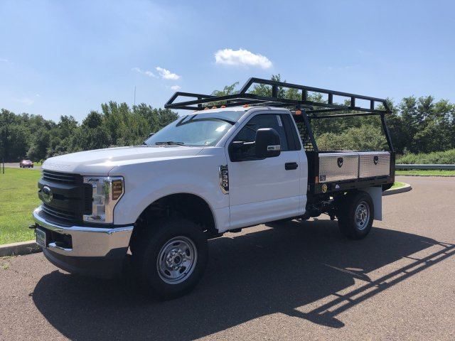 2019 F-350 Regular Cab 4x4,  TP Trailers Inc. Contractor Body #FL34583 - photo 9