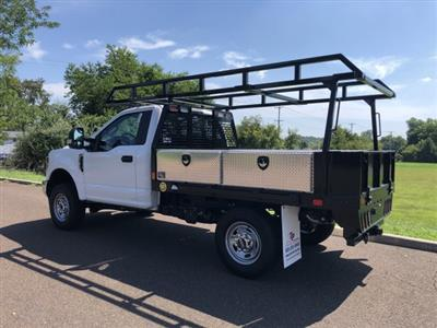 2019 F-350 Regular Cab 4x4,  TP Trailers Inc. Contractor Body #FL34583 - photo 2