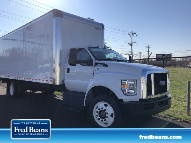 2019 F-650 Regular Cab DRW 4x2,  Morgan Dry Freight #FL34629 - photo 1