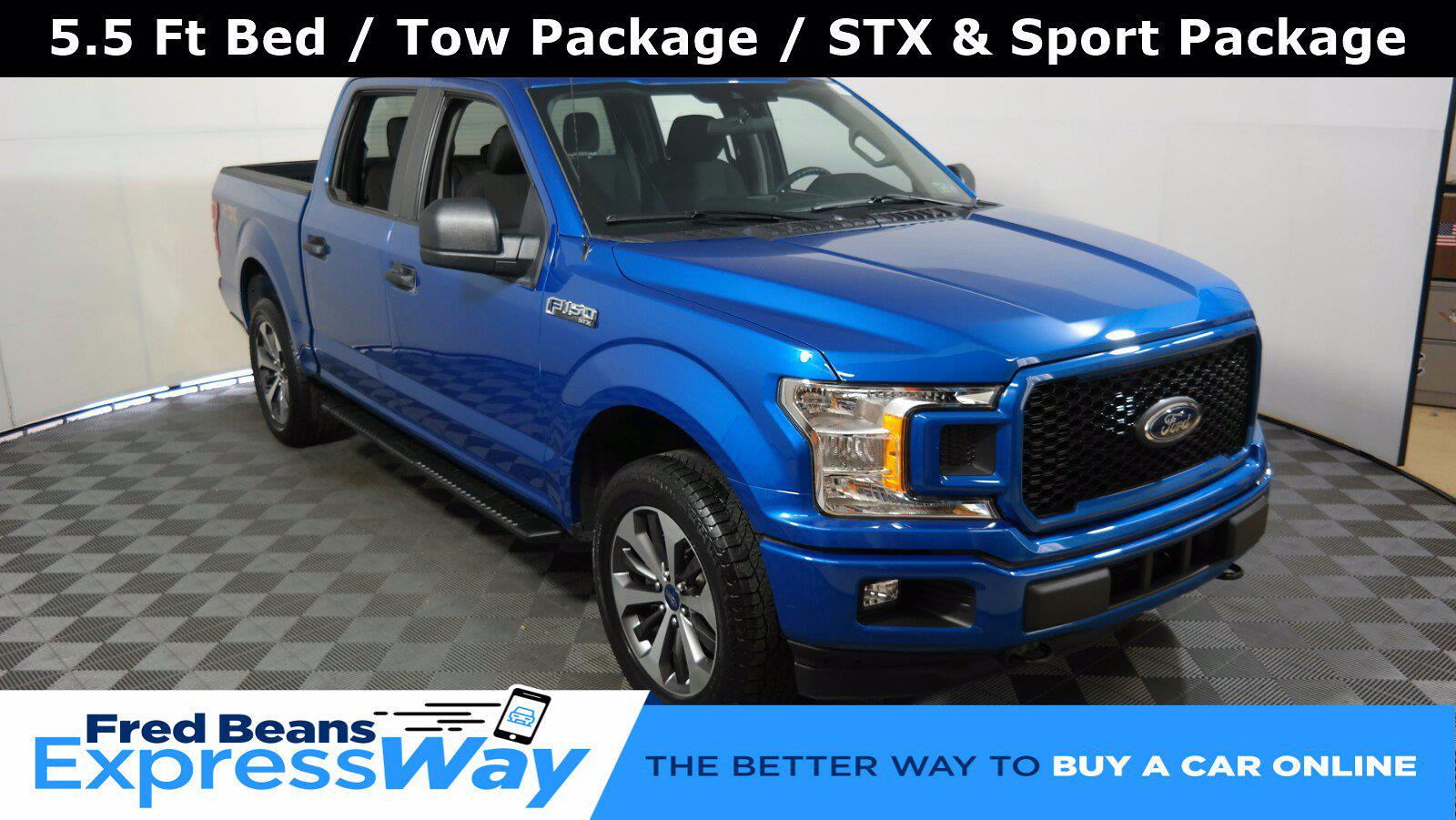 2019 F-150 SuperCrew Cab 4x4,  Pickup #FL35212 - photo 1