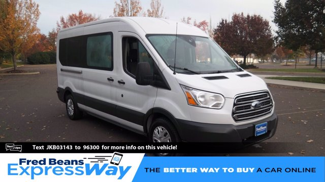 2018 Ford Transit 350 Med Roof 4x2, Passenger Wagon #FL0311P - photo 1