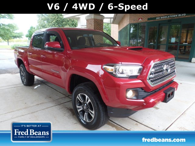 2017 Tacoma Double Cab 4x4,  Pickup #FL9431C - photo 1