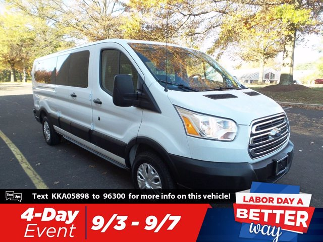 2019 Transit 350 Low Roof 4x2, Passenger Wagon #FL9537P - photo 1