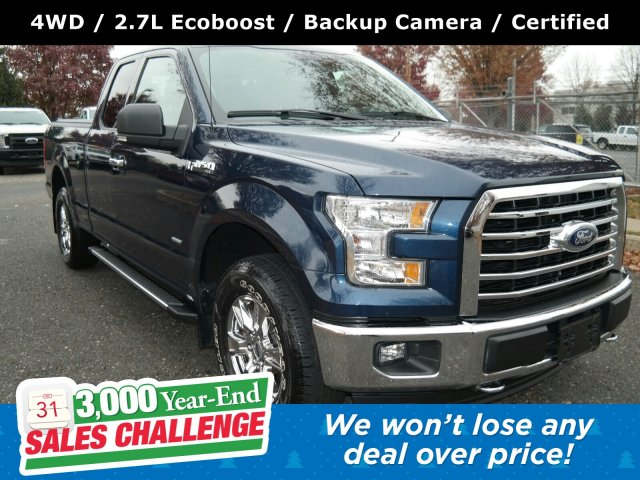 2016 F-150 Super Cab 4x4, Pickup #FL9573C - photo 1
