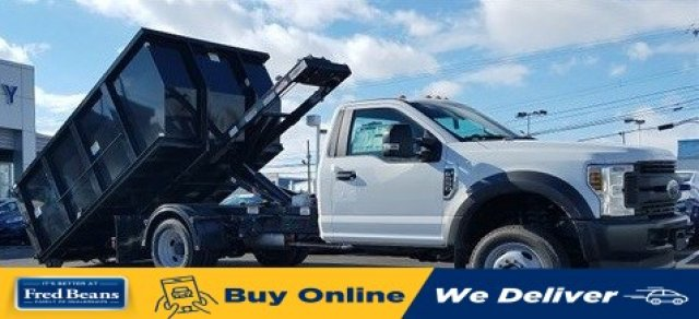 2020 F-550 Regular Cab DRW 4x4, Switch N Go Hooklift Body #FLU00211 - photo 1