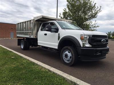 2020 F-450 Super Cab DRW 4x4, TruckCraft Landscape Dump #FLU00268 - photo 6