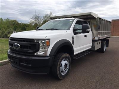 2020 F-450 Super Cab DRW 4x4, TruckCraft Landscape Dump #FLU00268 - photo 8