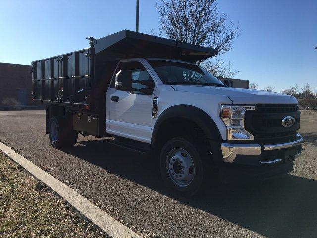 2020 F-550 Regular Cab DRW 4x4, PJ's Landscape Dump #FLU00359 - photo 6