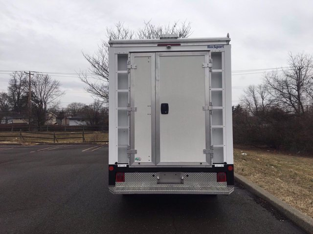 2020 Ford Transit 350 RWD, Rockport Workport Service Utility Van #FLU00377 - photo 4