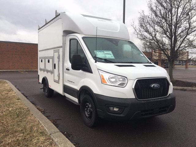 2020 Ford Transit 350 RWD, Rockport Workport Service Utility Van #FLU00377 - photo 9