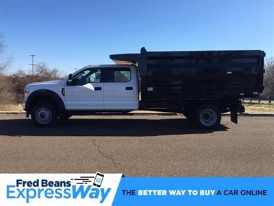 2020 F-450 Crew Cab DRW 4x4, Rugby Landscape Dump #FLU00422 - photo 1