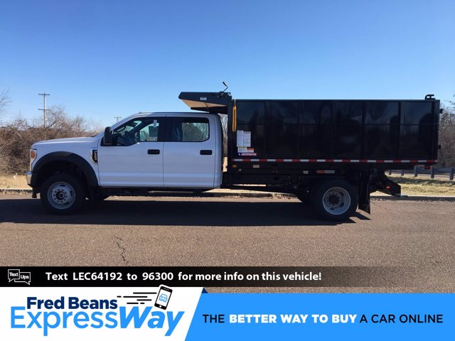 2020 F-550 Crew Cab DRW 4x4, Morgan Landscape Dump #FLU00428 - photo 1