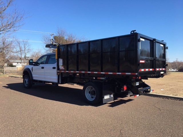 2020 F-550 Crew Cab DRW 4x4, Morgan Landscape Dump #FLU00428 - photo 2