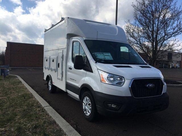 2020 Ford Transit 350 RWD, Rockport Workport Service Utility Van #FLU00450 - photo 10