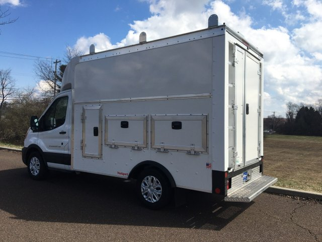 2020 Ford Transit 350 RWD, Rockport Workport Service Utility Van #FLU00450 - photo 2