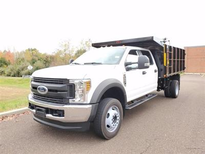 2020 Ford F-450 Crew Cab DRW RWD, PJ's Landscape Dump #FLU00451 - photo 8
