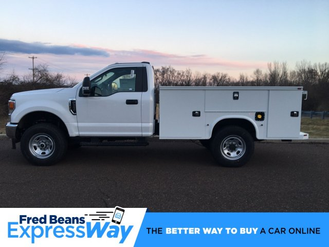 2020 Ford F-350 Regular Cab 4x4, Knapheide Steel Service Body #FLU00478 - photo 1