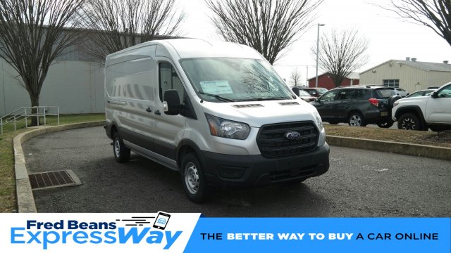 2020 Ford Transit 250 Med Roof RWD, Empty Cargo Van #FLU00479 - photo 1
