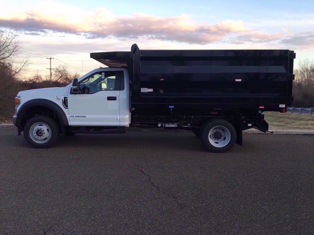 2020 Ford F-450 Regular Cab DRW 4x4, Rugby Landscape Dump #FLU00491 - photo 8